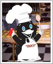 Inky the Chef